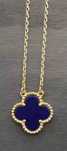 gold+lapis necklace