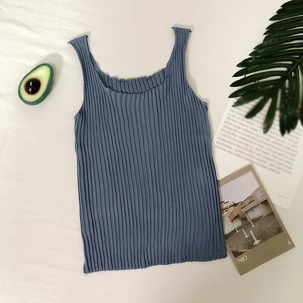 Frauen-Sommer-Normallack-Baumwollunterhemd-reizvolle ärmellose Unterhemden Retro beiläufige Pers5onlichkeit Allgleiches kurzes Art-Unterhemd-Oberseite