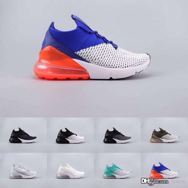 Venda quente Nike Air Max 270 Dos Homens Das Mulheres Designer de Calçados Casuais OREO Tiger Punch Triplo Branco Preto SER VERDADEIRO Teal Luxo Esportes Sapatilha Sapatos de Ar