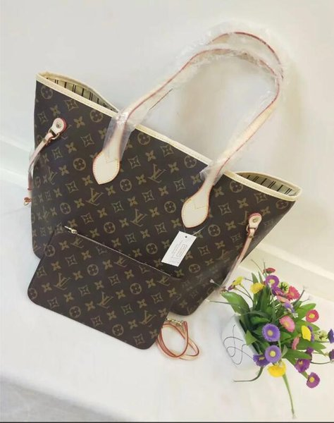 8GUCCI 8Louis Vuitto nrican fashion Genuine Leather explosion Handbags WOMEN shoulder bag woman Handbags Shoulder diagonal bag A18