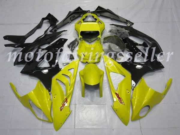 4 Gifts Injection Mold New ABS Motorcycle Fairings Kits Fit For BMW S1000RR 09 10 11 12 13 14 15 16 bodywork set Yellow and Black