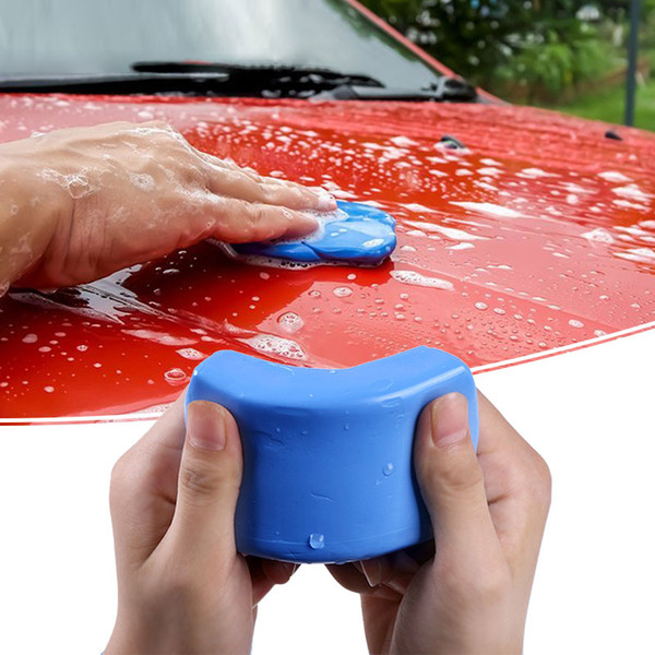best selling Car Wash Clay Car Cleaning Detailing Blue Magic Auto Clean Clay Bar Mini Handheld Washer 180 100g car washer