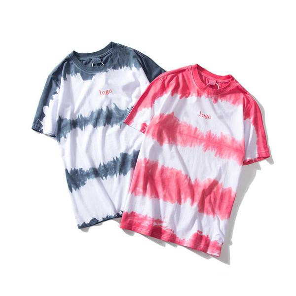 Hombres Mujeres Marca Camisetas 2019 Nueva Llegada Para Hombre Para Mujer Carta Impresa Marca Camisetas Verano Casual Transpirable Hombres Mujeres Tees