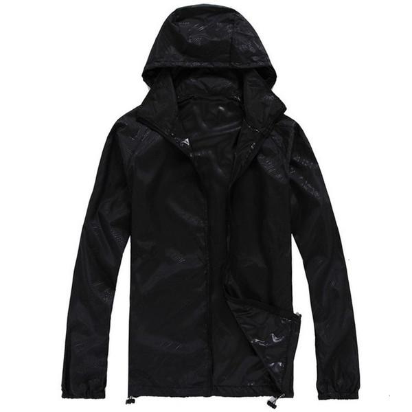 Quick Dry pele dos homens Qualidade Casacos Mulheres Coats Ultra-Light Casual impermeável revestimento do revestimento à prova de vento Roupa do tipo corta-vento
