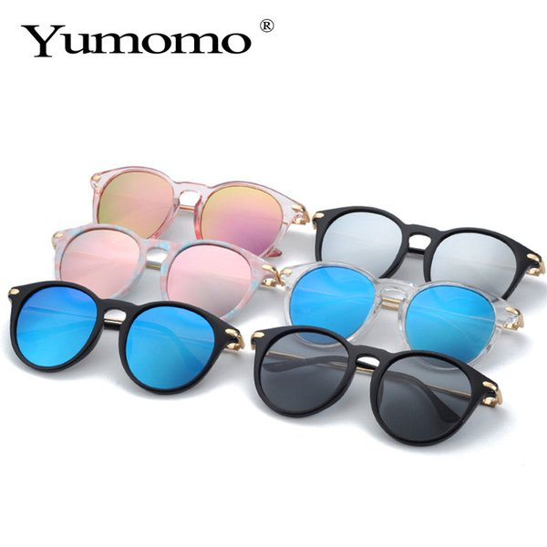 Polarized Kids Sunglasses Fashion Mirror UV400 Lens Metal Frame Lovely Baby Eyewear For Girls Boys oculos infantil