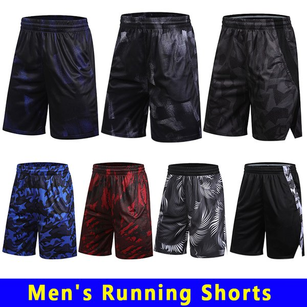 best selling Men's Workout Running Athletic Shorts Mens Gym Short Outdoor Sports Running Beach Short Lightweight Quick Dry Reflective With Zipper Pockets