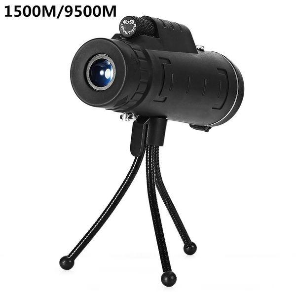 HobbyLane Monocular 40x60 Jumelles puissantes de haute qualité Zoom Grand télescope à main Lll Night Vision Professional