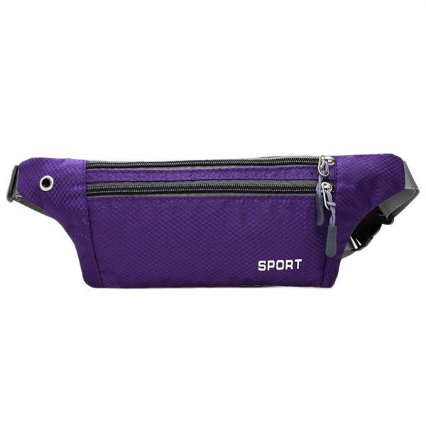 Waterproof Nylon waist pack for Men Women Fanny Pack Bum Bag Hip Money Belt travel Mobile Phone Bag #861570