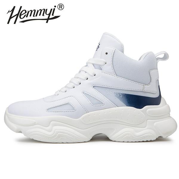 Hemmyi uomini causali scarpe outdoor Uomo comodo Lace-Up fondo spesso Zapatos De Hombre sostenere dropshipping 39-46 R01