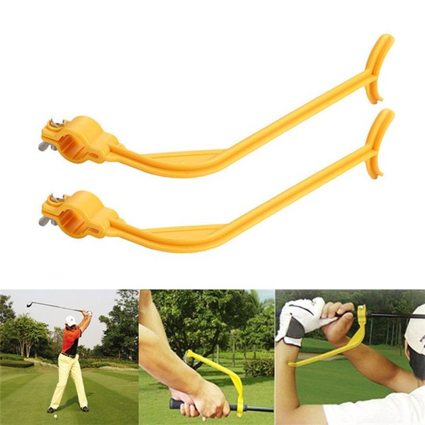 2019 Swingyde Trainer Wrist Control Gesture Golf Beginner Golf Practice Swing Trainer Gesture Wrist Alignment Training Aid Tool From Melodyqueen8