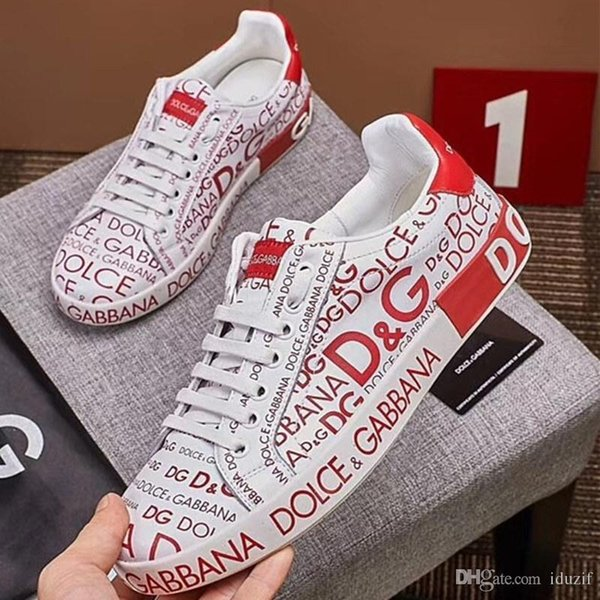 19ss DesignerMen Women Casual Shoes Luxury Brands Designer Sneakers con cordones Zapatos para correr con Leath genuino de calidad superior