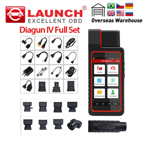 LAUNCH X431 Diagun IV full system diagnosis with OBD2 special function auto diagnostic tool free update PK X 431 Diagun III
