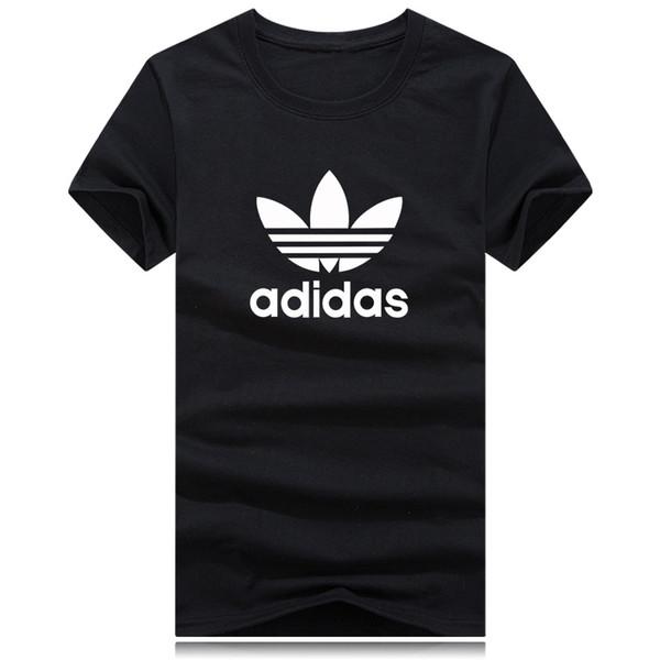 Camiseta de lujo para hombre, top diseñador, marca impresa, camiseta para hombre, deporte, corredor fresco, camiseta para hombre, chaqueta de algodón suelto, 18 colores s-5xl