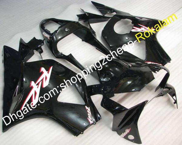 954 ABS carenados de plástico para Honda CBR900RR 02 03 CBR900 900RR 900 954 2002 2003 negro brillante conjunto de carenado de la motocicleta (moldeo por inyección)