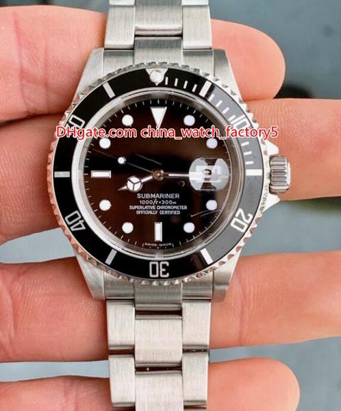 2 couleurs de qualité supérieure fabricant de cru 40mm BP 16610 16610LN 16610LV 50ht anniversaire Asie 2813 mouvement mécanique automatique Mens Watch montres