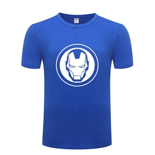 Movie Avengers Logo 남자 T 셔츠 팬 착용 T 셔츠 남자 면화 짧은 소매 남자 Tshirt Streetwear Tee 셔츠 Homme 여름 빅 사이즈