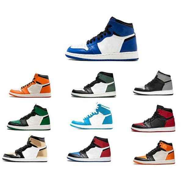 1 gündelik ayakkabı Atletizm Sneakers Ayakkabı moda lüks Koşu YENİ Yasaklı 1 Yüksek OG Couture Muhalif Yeni kadın tasarımcı sandalet ayakkabı mens
