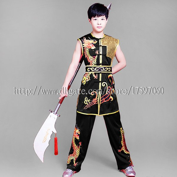 best selling Chinese Wushu uniform Kungfu costume Embroidery garment Martial arts outfit routine kimono for boy girl men women children girl kids adults