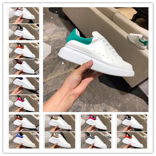 [Avec boîte] Nouvelle chaussure de marque TOP Homme Noir Bleu Sneaker à lacets en cuir Sneaker Chaussure de luxe italienne Femme Casual
