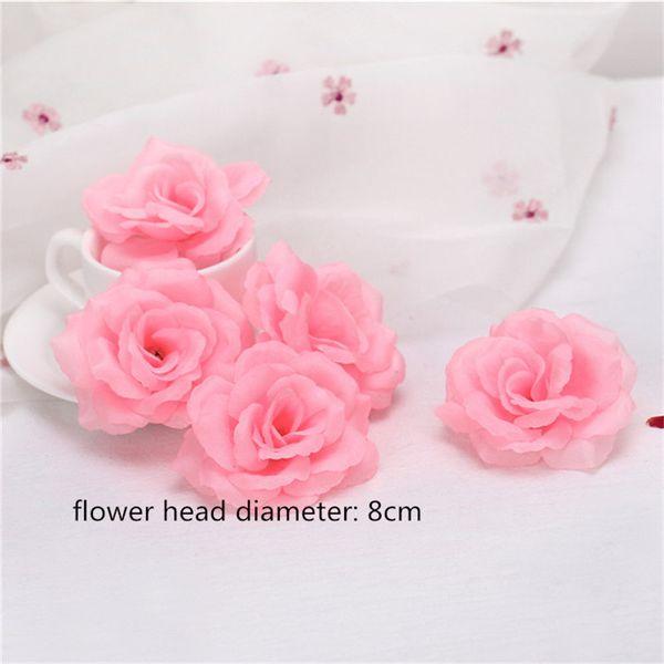 8cm-1 rose flower head