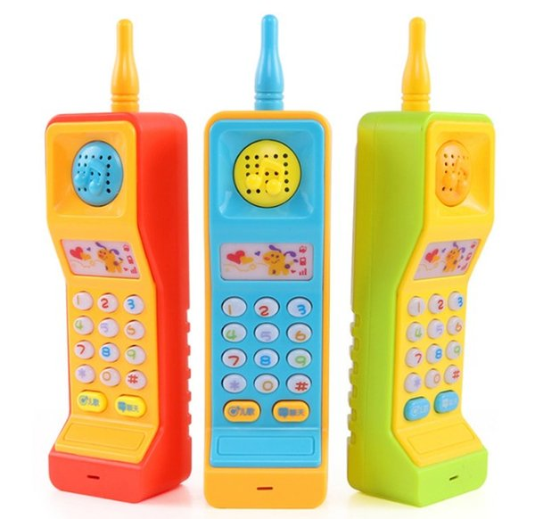 Toy Phones suzakoo vocal toy pohone eletric Vocal toy one pcs game playing sound music children fun