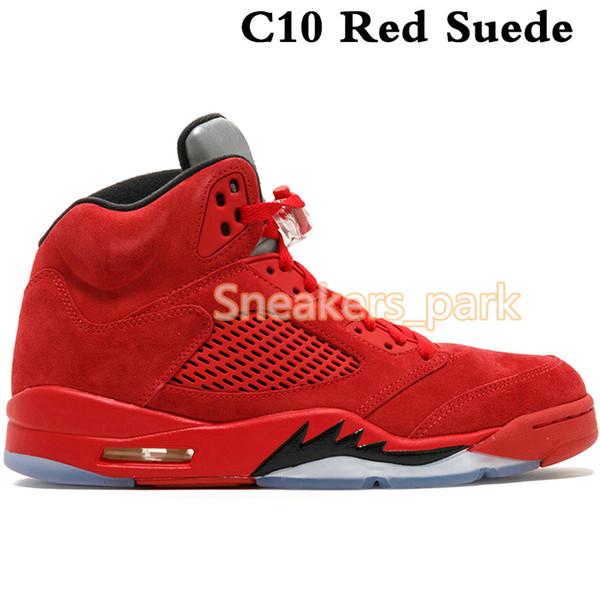 C10 Красная Замша