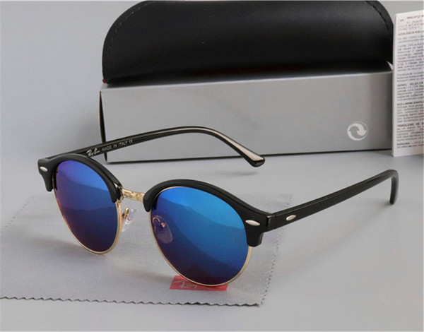 Brand designer Mens Womens Sunglasses plank frame Metal hinge Glass Lens Cat Eye sun glasses uv400 Goggle With cases and accessories
