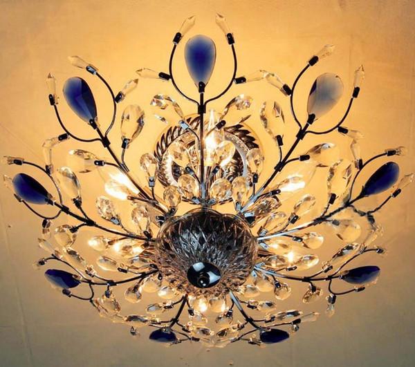 La De Iluminación Lámpara Techo Sala De Del Para Cristal De Dormitorio Lámpara De Hermoso Diseño De Cristal Lámpara Estar Lustres Techo De Compre orCWdxeB