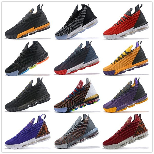 2019 Ashes Ghost Floral Equality James 16 Basketball Shoes Mens shoes James XVI Sneaker Sports Trainers Size 7-12