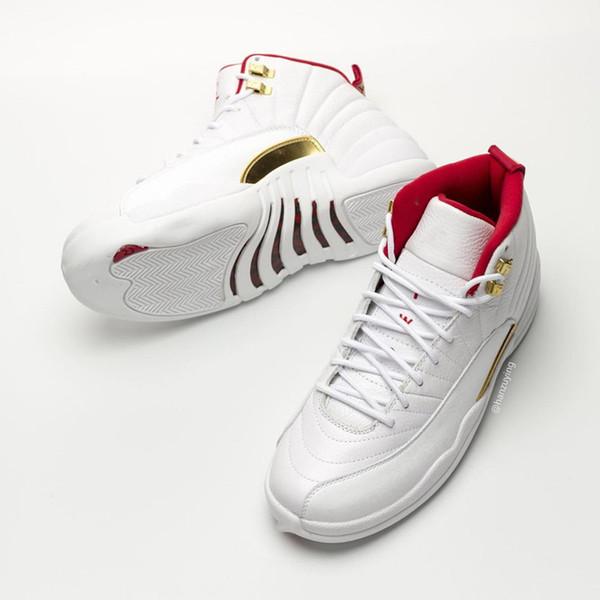 2019 12S ФИБА мужчины баскетбольные кроссовки с коробкой 12s лучшие qualtiy кроссовки кро