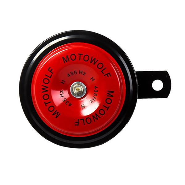 1Pcs Moto Moto Corno Tromba 12V nero forte 110db ciclomotore Dirt Bike auto veicolo elettrico del motorino Air Horns Moto Classic Horn