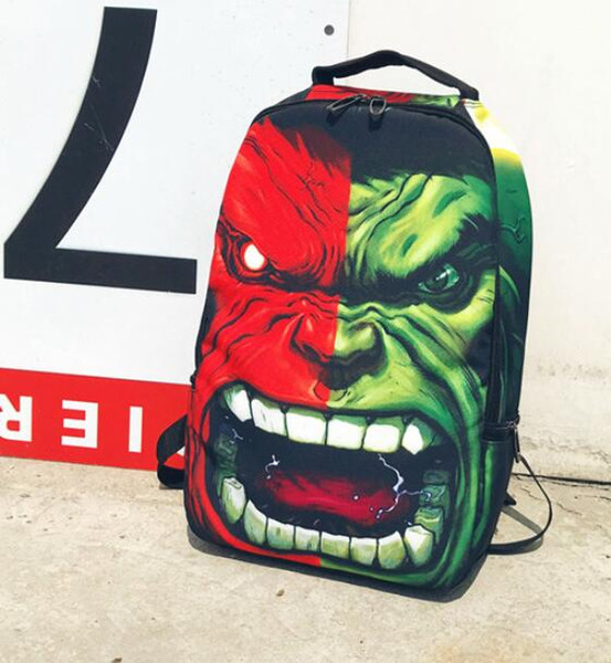 Moda Cyclopia monstro mochila Sprayground saco de escola Designer Mochila chão Mochila Esporte saco de escola Ao Ar Livre pacote de dia