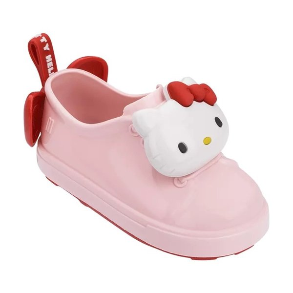 Mini Melissa Girl Sandals New Mickey Bowknot Casual Girl Single Shoes Candy Fruit Jelly Shoes Waterproof Jelly Sandals Shoes Y190523