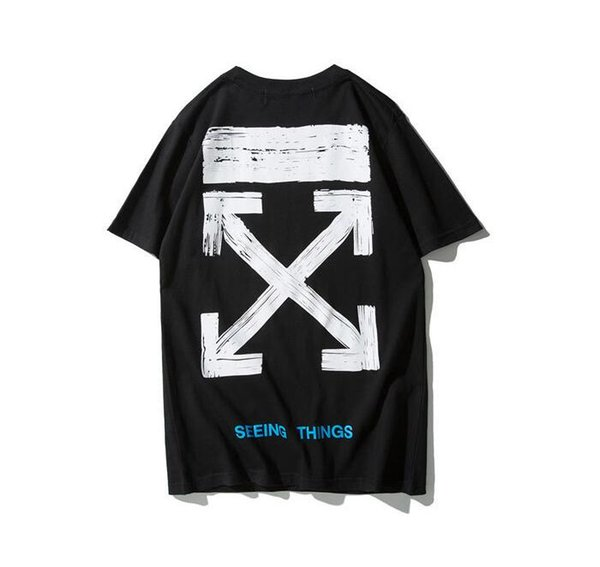 2019 Summer T Shirts For Men Tops printing Polo shirt Mens cotton Brand Short Sleeve Tshirt men Tops tee Size M-XXL
