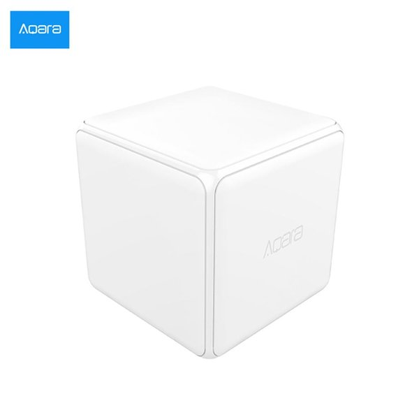 [HOT] Xiaomi Aqara Magic Cube controlador Zigbee Versão controlada por seis ações para Smart Home trabalho dispositivo com aplicativo mijia casa