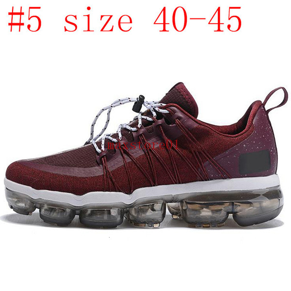 #5 Burgundy Crush size 40-45