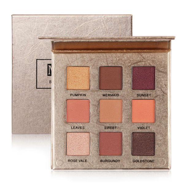 New 9 Color Shimmer Eye Shadow Palette Fashion Matte Eyeshadow   Cosmetics