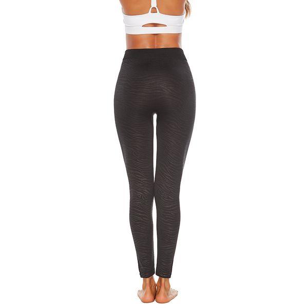 All'ingrosso-donne Plus Size allenamento Leopard Leggings Fitness Sport Yoga Athletic ghette di sport donne di forma fisica