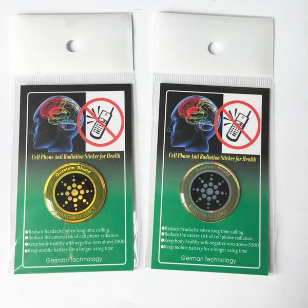 1pc Quan-tum Autocollant de bouclier de téléphone portable autocollant pour téléphone portable anti protection contre les rayonnements des CEM Fusion Excel Anti-Radiation