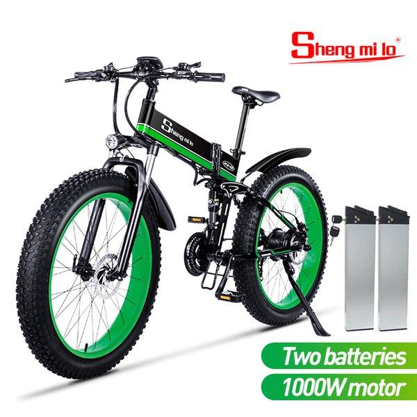 dual battery green