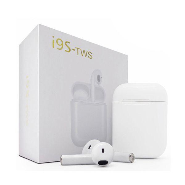 i9 i9s tws I9S-TWS v5.0 Bluetooth Kopfhörer Drahtlose Musik Freisprecheinrichtung Autofahrer Headset Telefon Kopfhörer Ohrhörer Mit Mikrofon Für Iphone 004