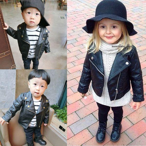 e41d7daa9a vestiti del ragazzo del bambino Ragazzi giacca Bambini Giacche in pelle per  bambini vestiti firmati ragazzi