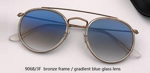 9068/3F bronze - gradient blue