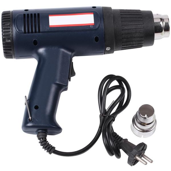 Promotion - температура Регулируемого 1500W Industrial Electric Heat Tool Ручной Термовоздушные Инструменты для обоев Краски Stripp ЕС Plug