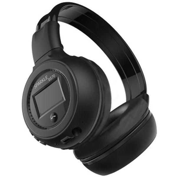 B573 headset Bluetooth headset Wireless card sports outdoor headphonesBuilt-in microphone wireless call LED Screen display headphones