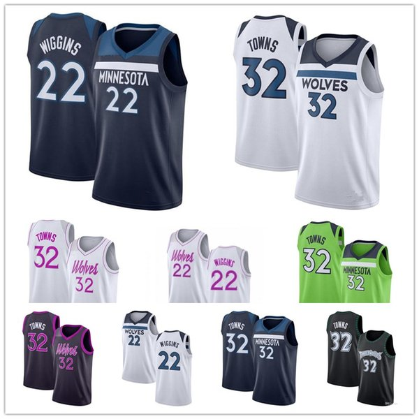 best selling Whosale Men's Minnesota Karl-Anthony 32 Towns Timberwolves Kevin 21 Garnett Andrew 22 Wiggins the city basketball jerseys