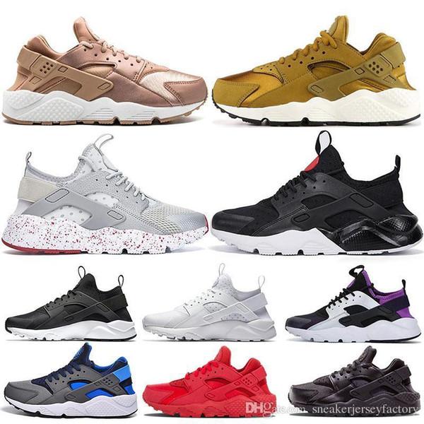 I IV cheap huarache running shoes men women classic grey triple black white huraches trainers sport shoes runner athletics sneaker eur 36-45