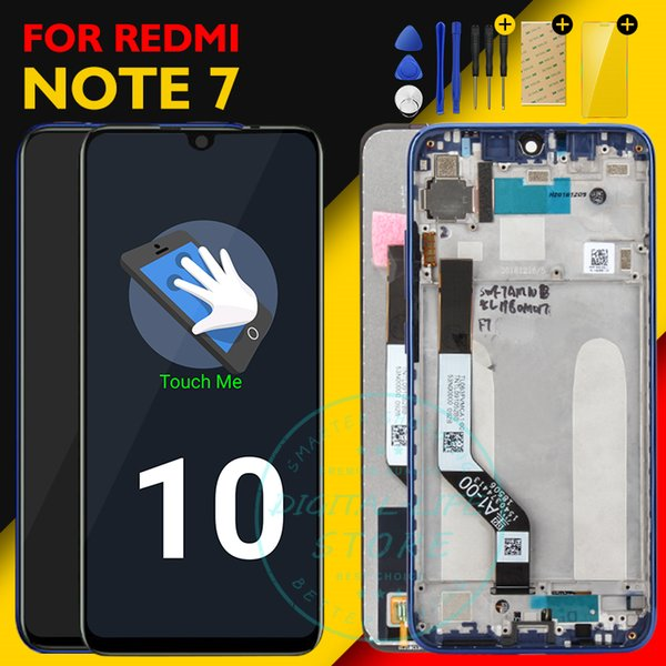 Original Screen Xiaomi Redmi Note 7 LCD Display 10 Touch Panel Redmi Note7 LCD Digitizer Assembly Replacement Repair Spare Parts