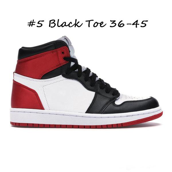 #5 Black Toe 36-45