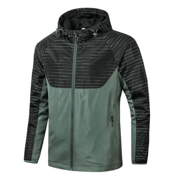 Erkekler Ceketler Erkek Kadın Bahar Sonbahar Ceket Rahat Baskılı Fermuar Rüzgarlık Tasarımcı Ceketler Artı Boyutu L-4XL